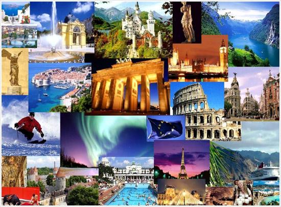 Европа экскурсионная